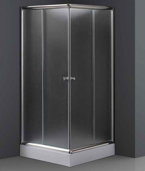 Niagara Wellness Ambon frost szögletes zuhanykabin 90x90 cm