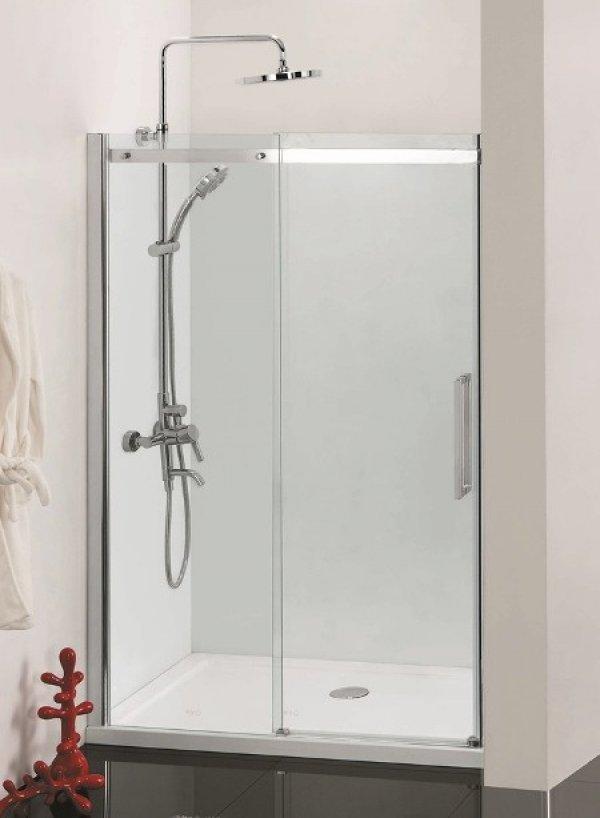 Sanotechnik Fenix DB120U zuhanyfülke ajtó+zuhanyfülke fal 120 cm
