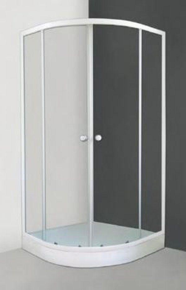 Roltechnik Sanipro Apollo Set íves, keretes, görgős zuhanykabin 90 cm