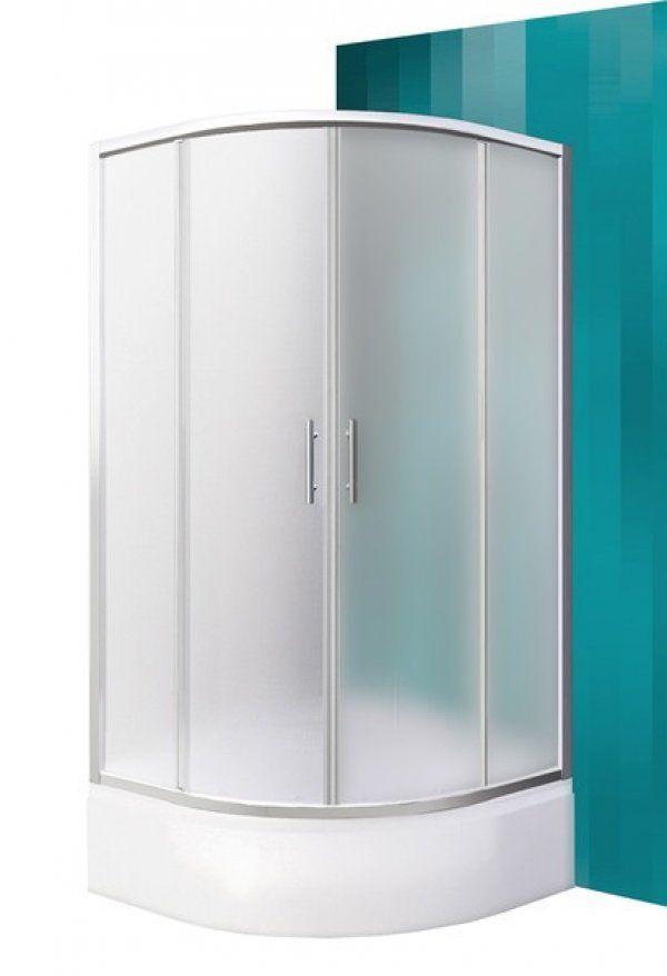 Roltechnik Sanipro Portland Neo íves, keretes, görgős zuhanykabin 80 cm