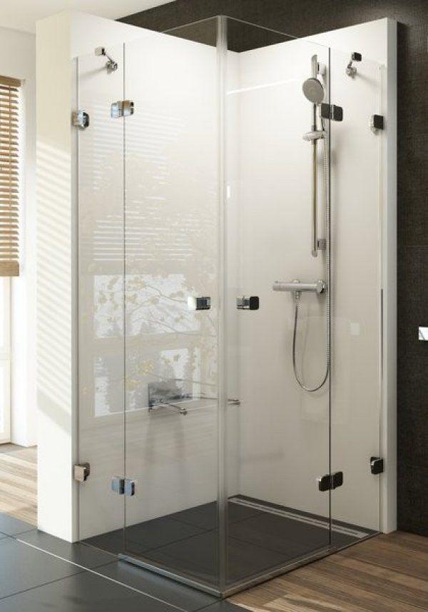 Ravak Brilliant BSRV4 négyrészes, sarokbelépős zuhanykabin 90 cm