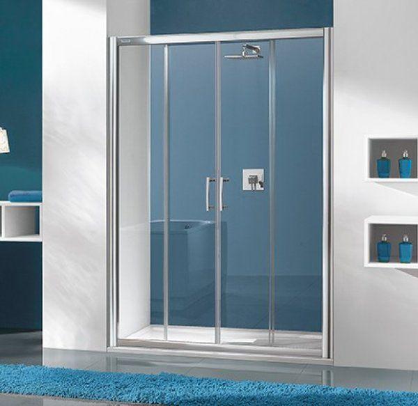 Sanplast D4/TX5 eltolható zuhanyajtó 150 cm