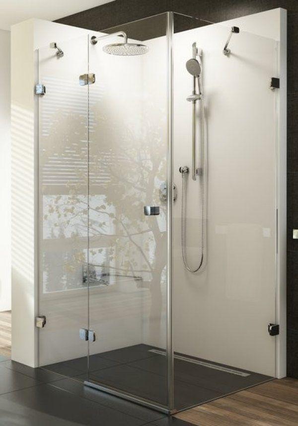 Ravak Brilliant BSDPS zuhanyajtó és fix oldalfal-elölről belépős zuhanysarok 120 cm