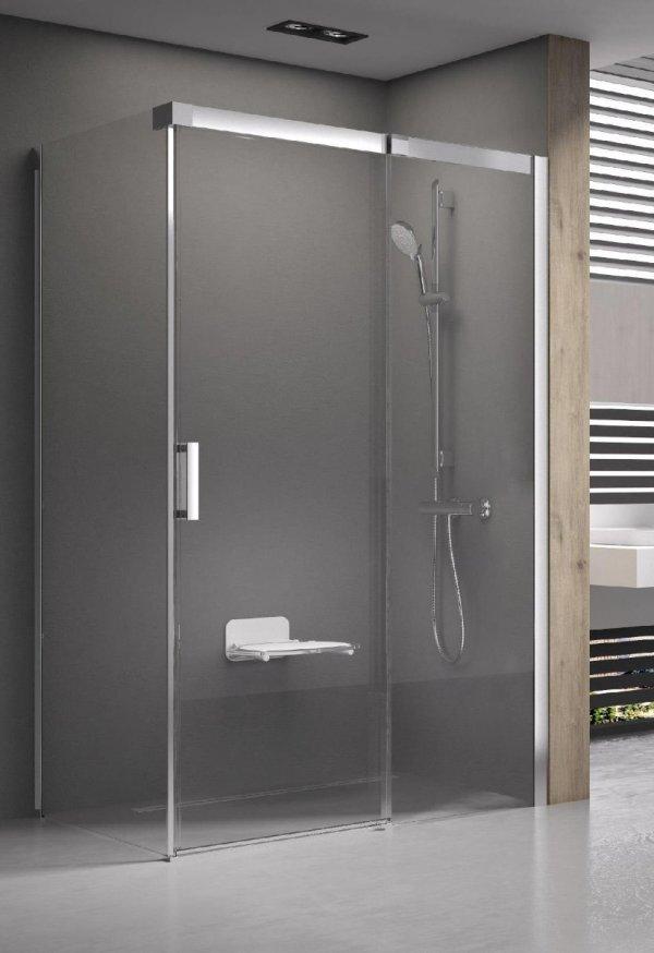 Ravak Matrix MSD2 kétrészes, csúsztatható zuhanyajtó 100 cm