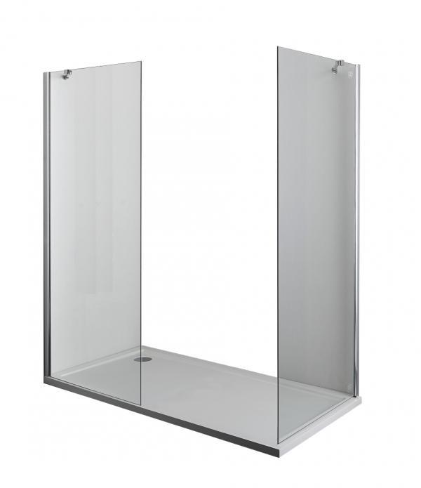Sanotechnik 2x Smartflex D1190 zuhanyfülke fal 86,5-88,5 cm