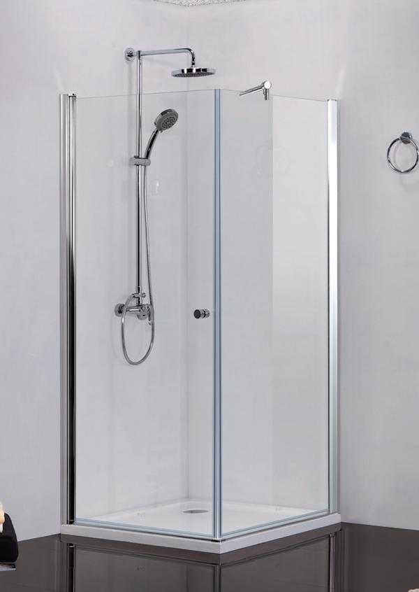 Sanotechnik Elegance N1590 szögletes sarokkabin 90 cm