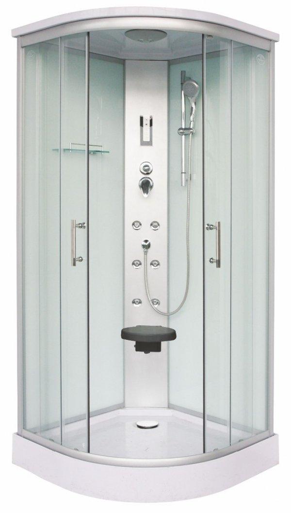 Sanotechnik Scala CL106 íves hidromasszázs zuhanykabin 90 cm