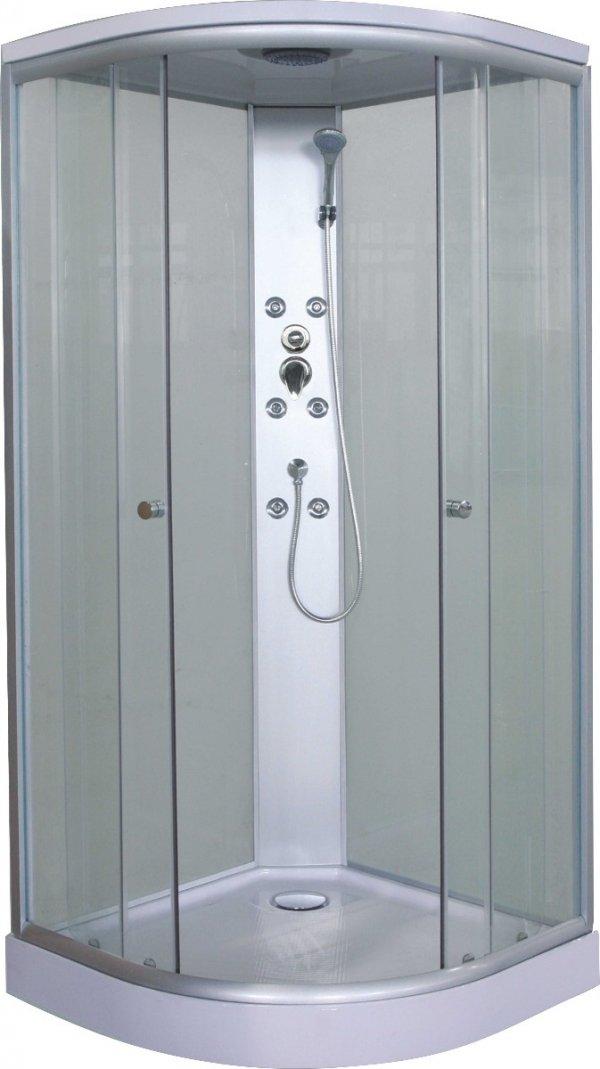 Sanotechnik Punto CL01 íves hidromasszázs zuhanykabin 90 cm