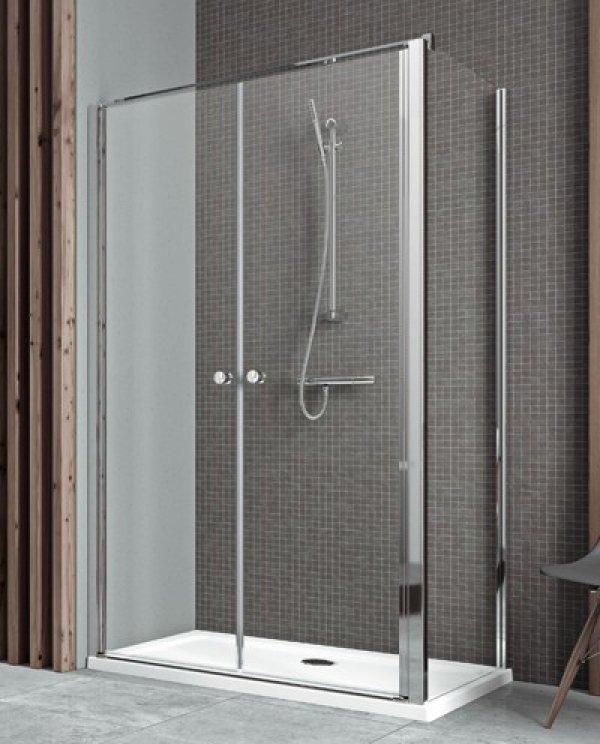Radaway Eos II DWD+S zuhanykabin 80 cm