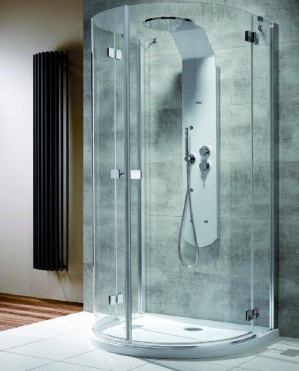 Radaway Almatea P félkör zuhanykabin 100x90 cm