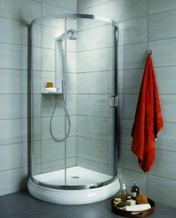 Radaway Premium Plus B íves zuhanykabin 90 cm