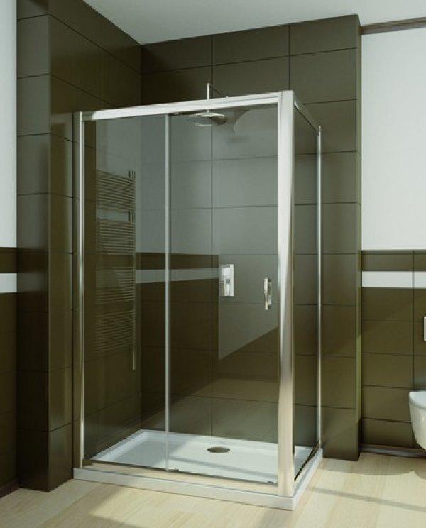 Radaway Premium Plus DWJ+S szögletes/téglalap zuhanykabin 140 cm