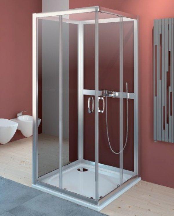 Radaway Premium Plus C+2S szögletes zuhanykabin 90 cm