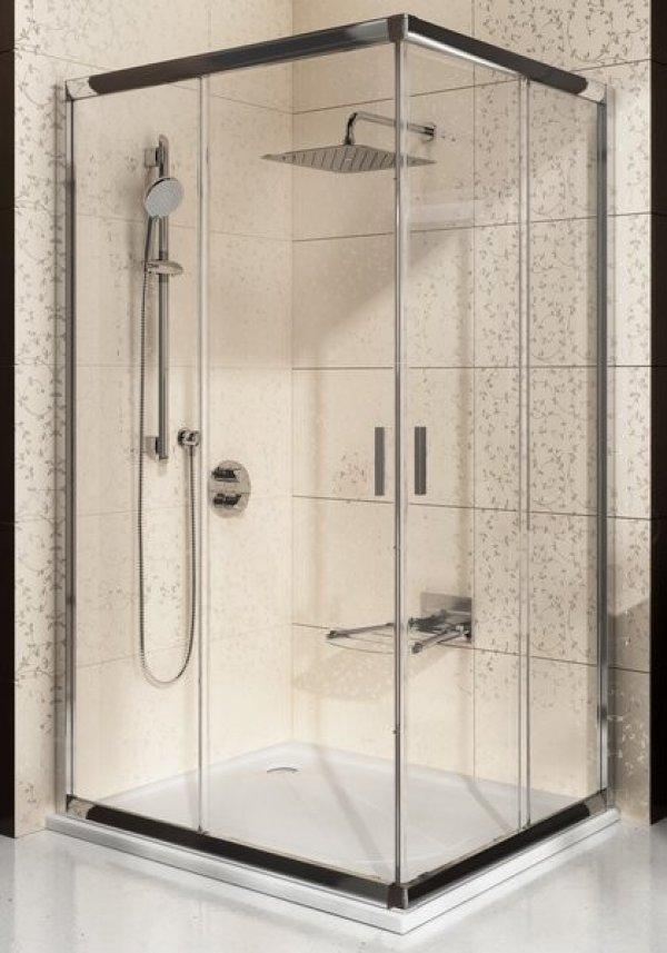 Ravak Blix BLRV2K + BLRV2K négyrészes, elcsúsztatható sarokbelépős zuhanykabin 110 cm