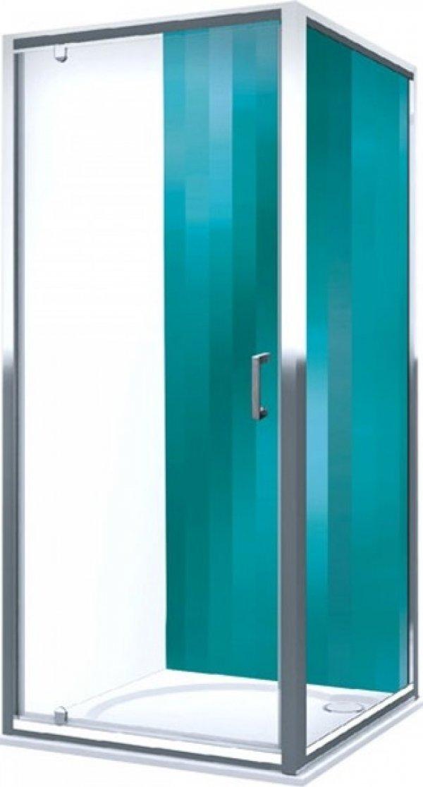 Roltechnik Lega Line LLB oldalfal LLDO1 egyszárnyas zuhanyajtóhoz 90 cm