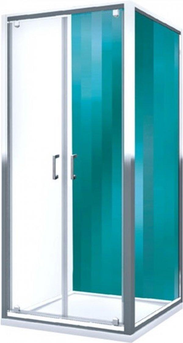 Roltechnik Lega Line LLB oldalfal LLDO2 kétszárnyas zuhanyajtóhoz 100 cm