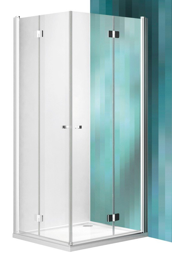 Roltechnik Tower Line TZOL1+TZOP1 szögletes zuhanykabin 100 cm