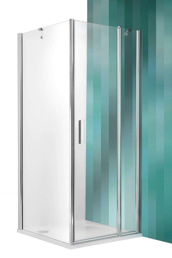 Roltechnik Tower Line TDO1+TB zuhanykabin egyszárnyas ajtóval és oldalfallal 90 cm
