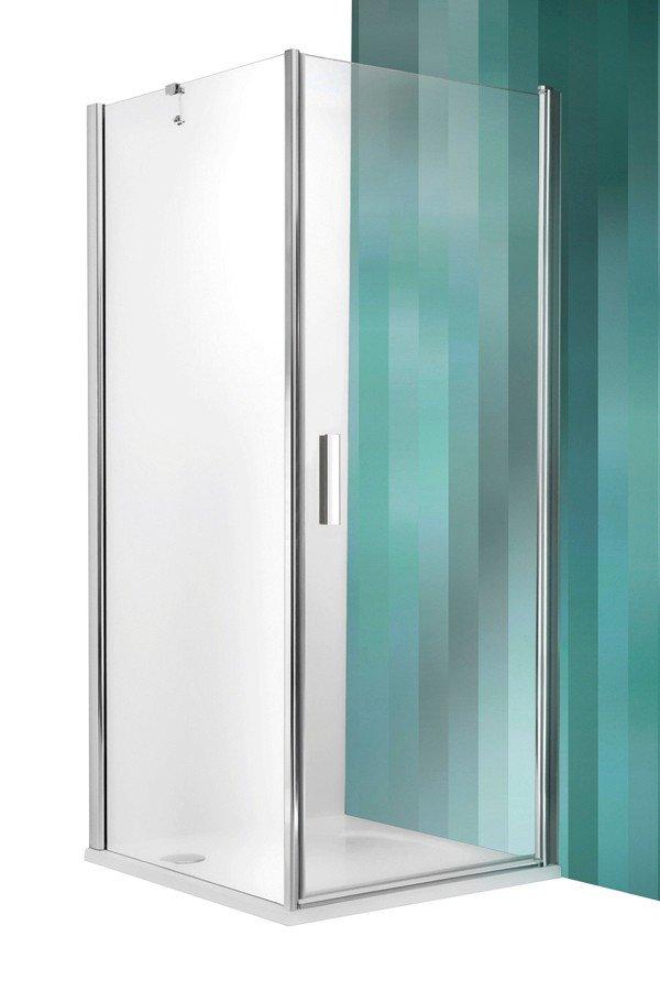Roltechnik Tower Line TCO1+TB négyszögletes zuhanykabin egyszárnyas ajtóval 90 cm