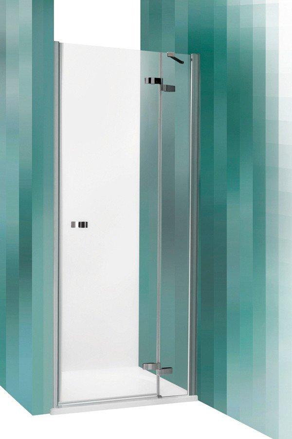Roltechnik Elegant Line GDNL1 egyszárnyas nyíló zuhanyajtó két fal közé 80 cm balos