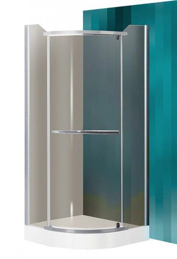 Roltechnik Sanipro Denver íves, nyíló zuhanykabin zuhanytálca nélkül 90 cm